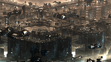 Antigravity City IV by banner4