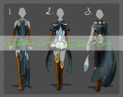 Full Clothing Set [CLOSED] by JxW-SpiralofChaos