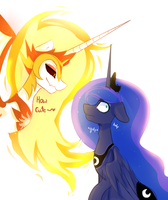 {MLP} Day is scarier than night by NutellaAkaNutella