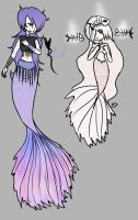 [Design Trade] Mermaids by OpalesquePrincess