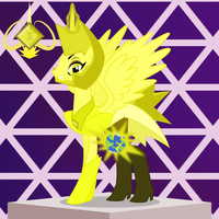 Homeworld Gems - Yellow Diamond by MLP-TrailGrazer