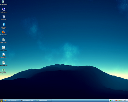 Late September desktop by TAFOZ