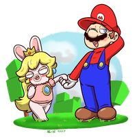 That Gurl's Rabbid by Mister-Saturn
