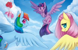 Fly with Us by Mousu