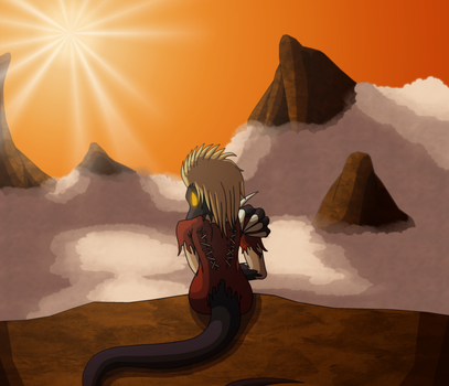Her World (Trade with bronzewinged ) by shadow-recon-666