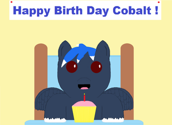 Happy Birth Day CobaltSky by SleepyCloud97