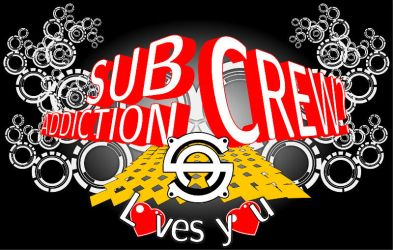 Subaddiction Crew loves you by subaddiction