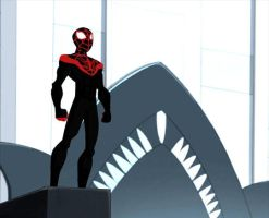 Animated Miles Morales by Balfro