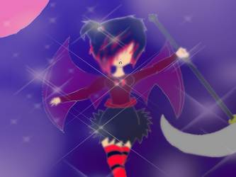 Me and my scythe by ShadowFanGirl331