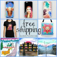 Free Shipping on Society6 Art Prints by LoVeras