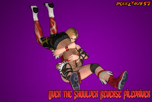 Over the Shoulder Reverse Piledriver by IKeelYou457