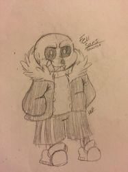 Fellsans (fan art mine: Wolftales158) by Wolftales158Art