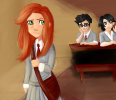 Young James and Lily by Tetra-Zelda