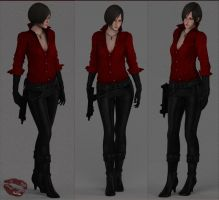 Ada Wong ( RE 6 ) by Real-Ada
