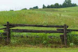 Wooden Fence Stock by Snowenne