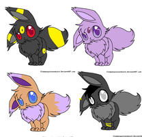 eevee adoptables CLOSED by Tenne-the-Aussi