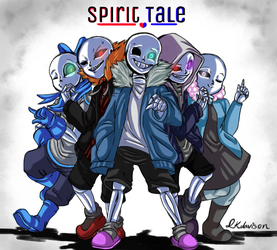 Commission - SpiritTale by sonicfangirl666