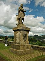 Bruce from Stirling Castle by Quadraro