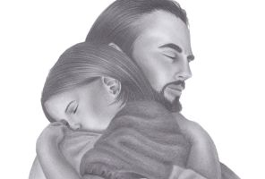 Jesus and child by Marilene123