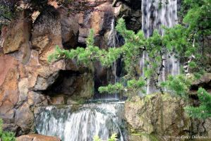 Peaceful Waterfall by Globe-Trotter
