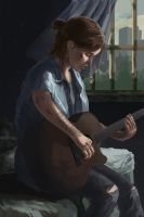 Ellie from the last of us part 2 by MolicaAnRus