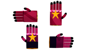 MMD Garnets Gloves by McChipy