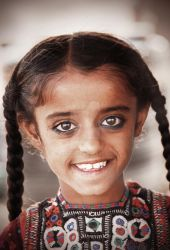 Gujarat Tribel Child by 60india