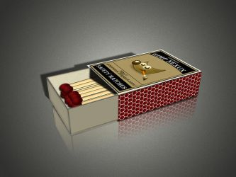 Safety Matches Box Tutorial by conbagui