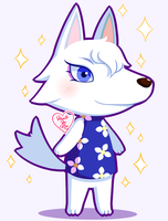 Animal Crossing New Leaf: Whitney ~ by Haato-No-Koe