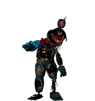Commission4 -FNAF-Withered Withered Toy Bonnie by Christian2099
