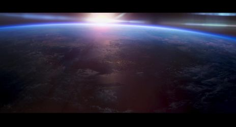 earth from space by leventep
