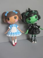 Mini Lalaloopsy as Wizard of Oz by arkohio
