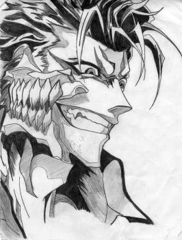 Grimmjow by slytherin-girl