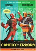deadpool and deathstroke : comedy of errors by m7781