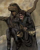 beat up lizards by thecommanders