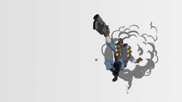 Valve demoman t-shirt (1280x720) by MrCirlo