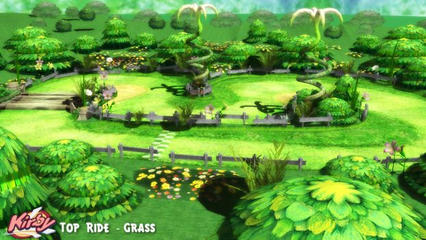 (MMD/OBJ Stage) Top Ride - Grass Download by SAB64