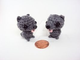 Custom Order - Two Wolf Puppies by altearithe