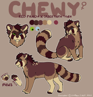 Chewy Reference by pandapoots