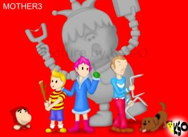 MOTHER3 by K-S-O