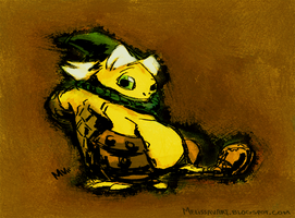 Link Goron by sketchinthoughts