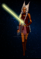 Adult Ahsoka Tano. by Chyche