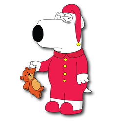 Sleepy Brian Griffin by domejohnny