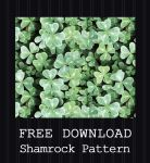 FREE DOWNLOAD - Shamrock Pattern by PointyHat
