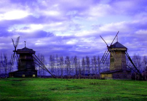 Windmills by GodBeWithUs