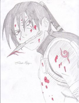Young blood itachi by kasaru
