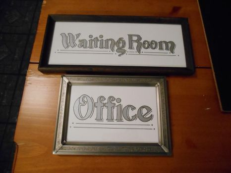 Signage for Doctor's Office by GetToTheLibrary