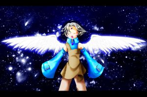 These are my wings...+Kiriban+ by Shironotenshi