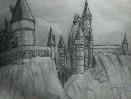 Hogwarts by JimagineL