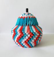 3D Origami Sugar-bowl 3 by designermetin